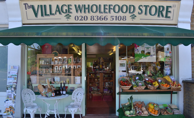 Health Food Store Village Wholefood Store Forty Hill Enfield Home